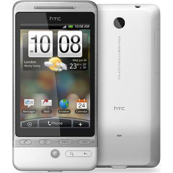 HTC Hero bílá + antireflexní ochranná fólie Brando na displej