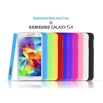 Brando zadní pogumovaný kryt pro Samsung Galaxy S5, černý