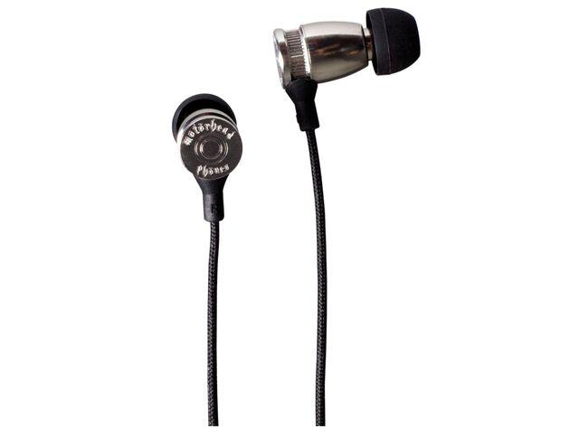obsah balení Sluchátka Motörheadphönes Trigger stříbrná + Metropolis UnderCover Apple iPhone 5 (černá/červená)