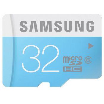 Samsung paměťová karta MB-MS32DA 32GB Class 6 microSDHC + SDHC adaptér