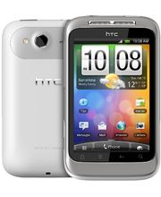 HTC Wildfire S white silver