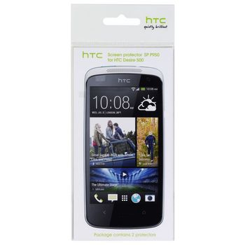 HTC ochranná fólie na displej pro Desire 500, 2ks, čirá