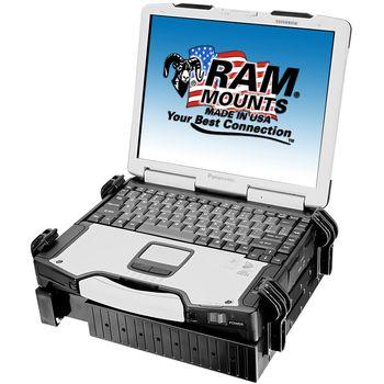 RAM Mounts držák na notebook univerzální, š. 254-406 mm, tl. 13-44 mm, RAM-234-3