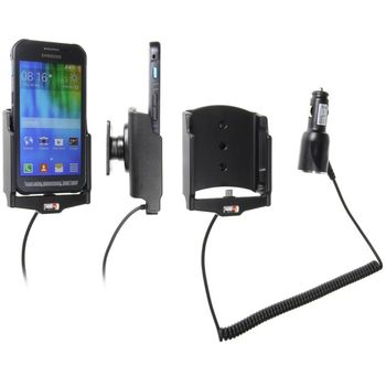Brodit držák do auta na Samsung Galaxy Xcover 3 bez pouzdra, s nabíjením z cig. zapalovače
