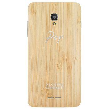 ALCATEL ONETOUCH 5022D POP STAR Wood Case, bambus
