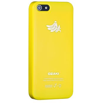 Ozaki kryt pro iPhone 5/5S O!coat Fruit BANANA, žlutá