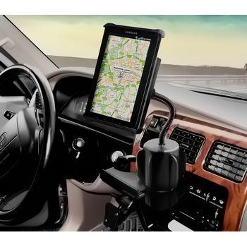 """RAM Mounts univerzální držák na tablet 7"""" až 8"""" do auta do držáku na nápoje, čelisťový, sestava RAP-299-3-TAB-SMU"""