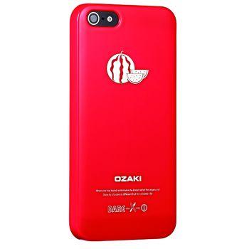 Ozaki kryt pro iPhone 5/5S O!coat Fruit WATERMELON, červená