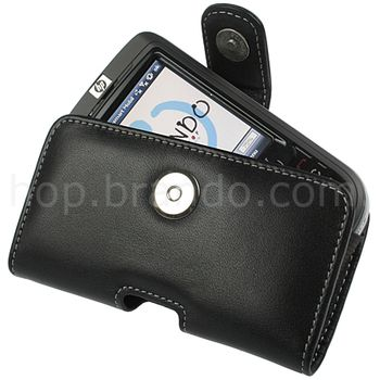 Pouzdro kožené Brando Pouch - HTC Desire Z, HTC Touch Pro 2, HP IPAQ 610/614