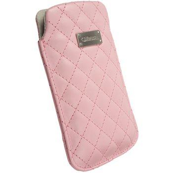 Krusell pouzdro Avenyn XL - HTC HD2, Sony Ericsson Aspen/Xperia X10  66x114x15mm (růžová)
