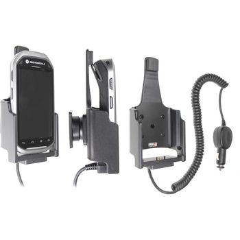 Brodit držák do auta na Motorola MC40 se čtečkou karet, s nabíjením z cig. zapalovače