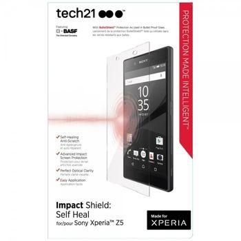 Prémiová ochrana displeje Tech21 Impact Shield pro Sony Xperia Z5