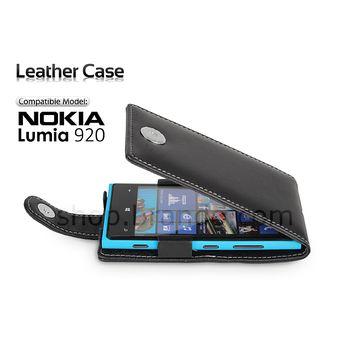 Pouzdro kožené Brando Flip Top - Nokia Lumia 920