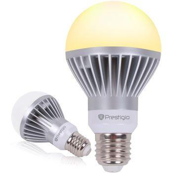 PRESTIGIO chytrá žárovka s Bluetooth Smart LED, 400lm, patice E27, teplá bílá