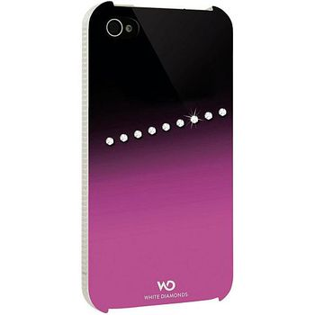 White Diamonds kryt Sash pro Apple iPhone 4/4S - růžová