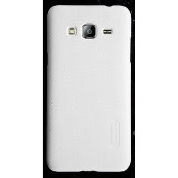 Nillkin zadní kryt Super Frosted pro Samsung J300 Galaxy J3, bílý