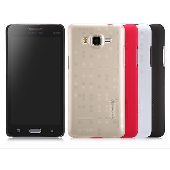 Nillkin zadní kryt Super Frosted pro Samsung G530 Galaxy Grand Prime, hnědý