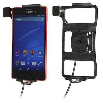 Brodit držák do auta na Sony Xperia M4 Aqua bez pouzdra, se skrytým nabíjením