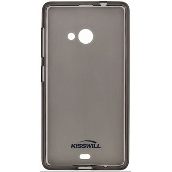 Kisswill TPU pouzdro pro Huawei Y6 II, černé