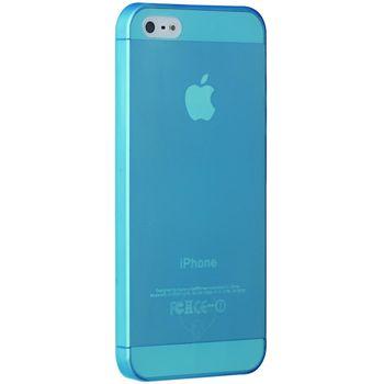 Ozaki kryt pro iPhone 5/5S O!coat 0.3 JELLY, modrá