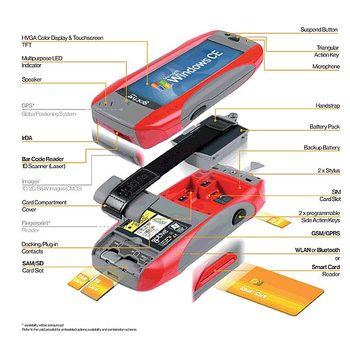 Gotive H42, TFT displej, GSM,GPRS - Traffic Red