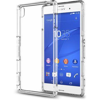 Spigen tenký kryt Ultra Hybrid pro Sony Xperia Z3, transparentní