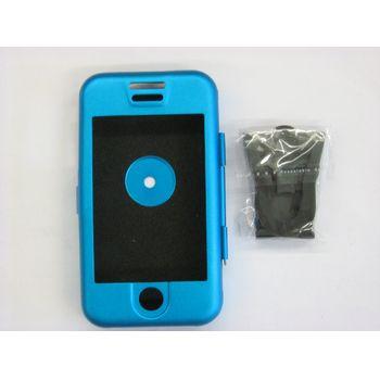 Hliníkové pouzdro ST - Apple iPhone - modrá