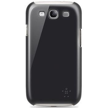 Belkin Shield pevné plastové pouzdro pro Samsung Galaxy S III, černé (F8M402cwC00)