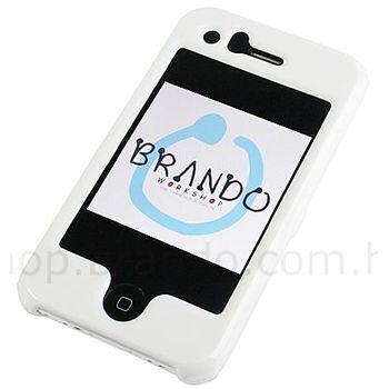 Ochranný kryt plastový Brando - iPhone 3G - bílá