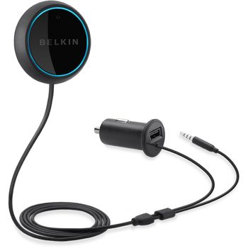 Belkin Aircast Audio - Bluetooth hudební handsfree sada do vozu, rozbaleno