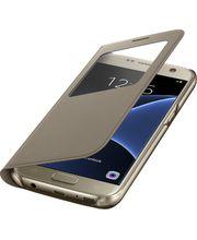 Samsung flipové pouzdro S View EF-CG930PF pro Galaxy S7, zlaté