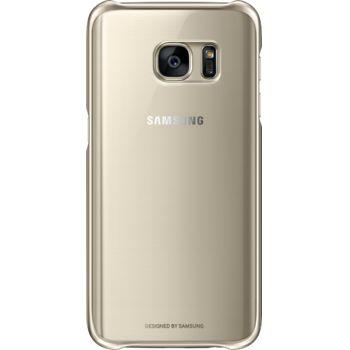 Samsung ochranný zadní kryt EF-QG930CF pro Galaxy S7, zlatý