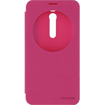 Nillkin pouzdro Sparkle S-View pro ASUS Zenfone 2 ZE551ML, červené