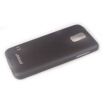 Jekod TPU kryt Ultrathin 0,3mm pro Samsung G900 Galaxy S5, černá transparentní