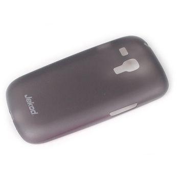 Jekod TPU kryt Ultrathin 0,3mm pro Samsung i8190 Galaxy S3 mini, černá transparentní