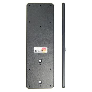 Brodit Mounting Plate 155x50x5mm