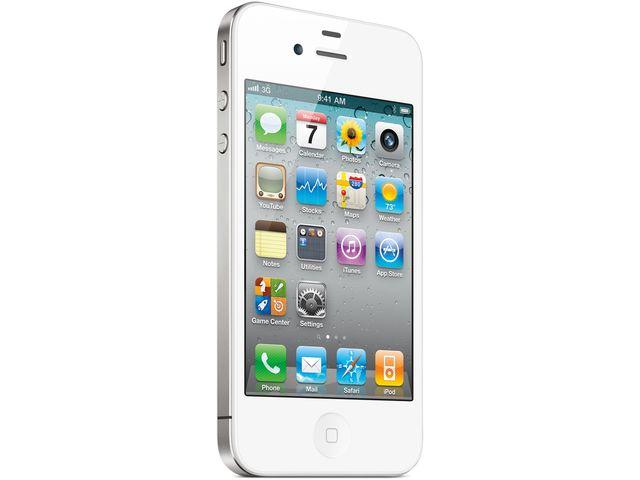 obsah balení Apple iPhone 4 16GB White + synchronizační/dobíjecí kabel s přepínačem Kidigi ZDARMA