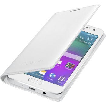 Samsung flipové pouzdro EF-FA300BW pro Galaxy A3, bílé