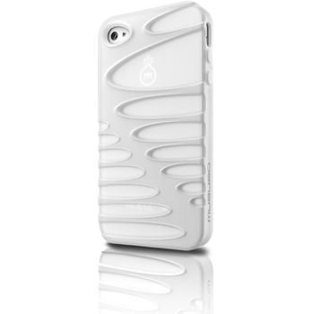 Musubo pouzdro Sexy pro Apple iPhone 4/4S - bílá