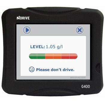 NDrive G400 Alcohol Sensor - CZ, PL, SK, HU, SL, CRO, AT