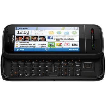 NOKIA C6-00 Black + 16GB karta