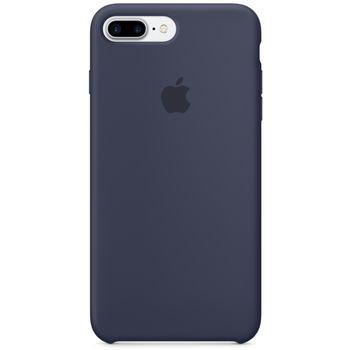 Apple silikonový kryt pro iPhone 7 Plus, půlnočně modrý