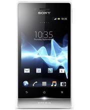 Sony Xperia miro (ST23i) - bílá/stříbrná