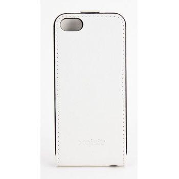 Xqisit flipové pouzdro pro iPhone 5C flip bílé