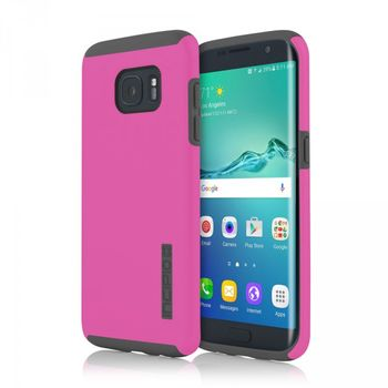 Incipio ochranný kryt Dual Case pro Samsung Galaxy S7 edge, růžové/šedé