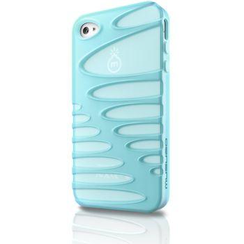 Musubo pouzdro Sexy pro Apple iPhone 4/4S - světle modrá