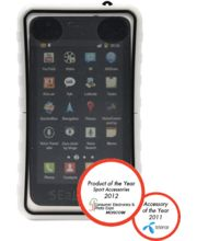 Krusell pouzdro vodotěsné SEaLABox XL-Galaxy S II/S, HTC Sensation/Desire/HD 129x68x16mm (bílá)