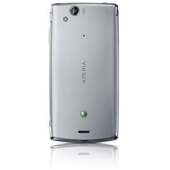 Sony Ericsson Xperia Arc S stříbrná + Prémiová fólie Krusell