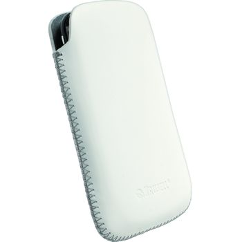 Krusell pouzdro Donso - L - Nokia X6/N900/N97 Mini, HTC Touch HD SE X2 114x67x16 mm (bílá)