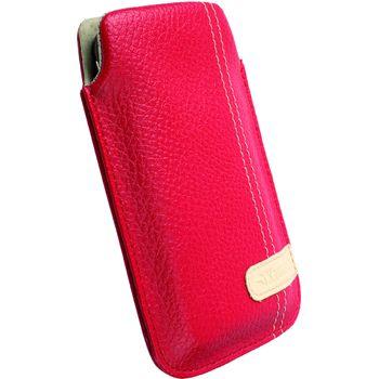 Krusell pouzdro Gaia Pouch M - Nokia 2323/5530,Sam S5230,SE Vivaz/Pro 100x45x16 mm (červená)
